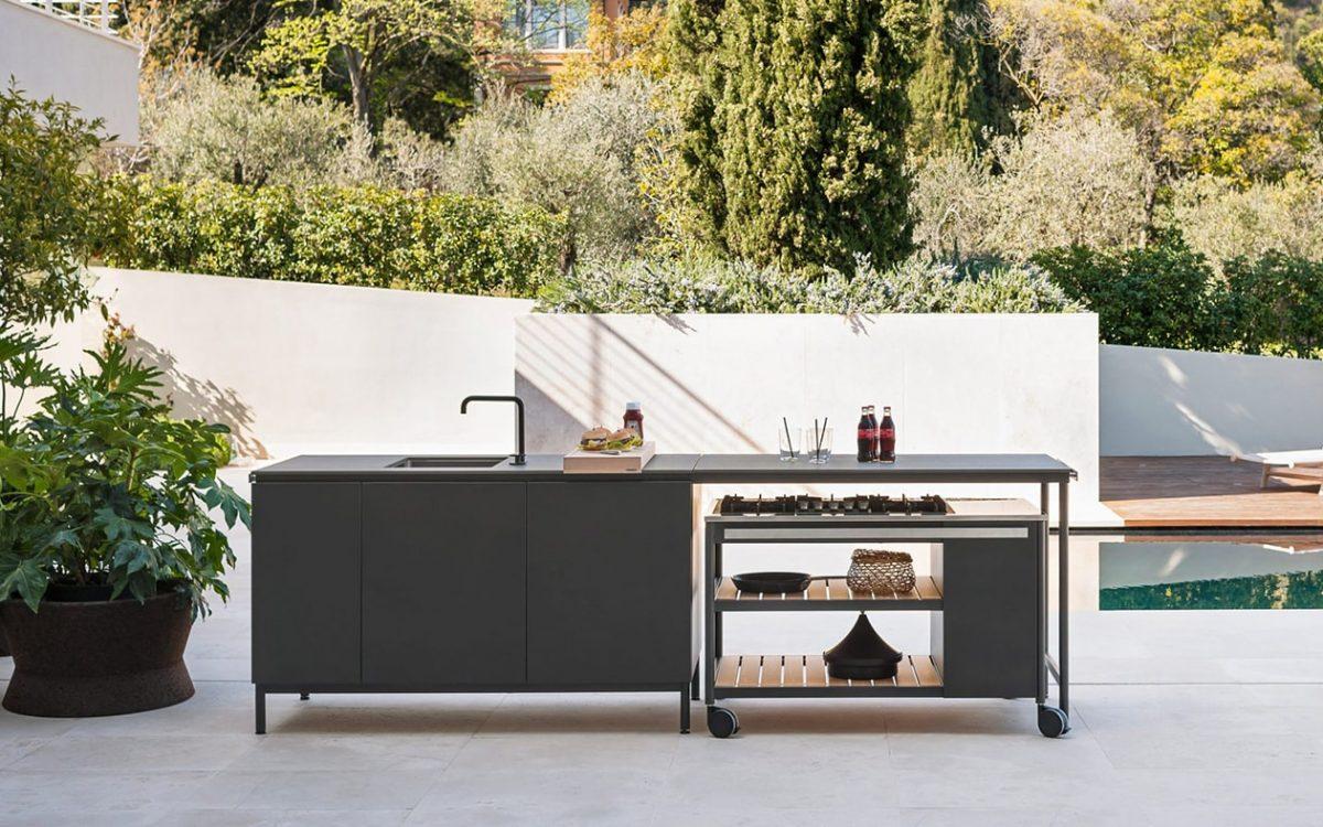 Модульная летняя кухня Norma от Родольфо Дордони – для кафе, дома и дачи