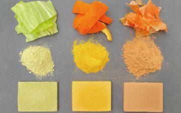 Новый съедобный материал из пищевых отходов прочнее, чем бетон