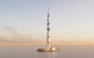 Представлен проект спирального мега-небоскреба для Санкт-Петербурга