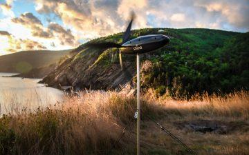 Shine Turbine: портативная зарядка-ветряк
