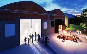 Музей в Италии из углеродного волокна как наглядная демонстрация материала